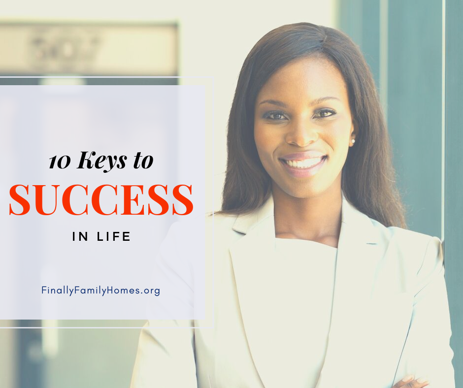 10 keys to success in life